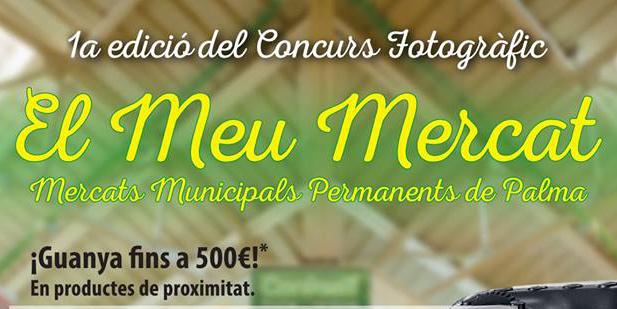 """Primera edición del concurso de fotografía """"El meu mercat"""""""