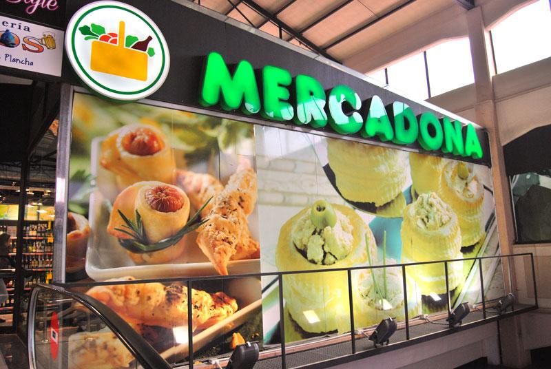 Supermarkt Mercadona