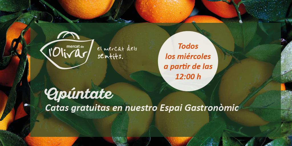 Un octubre repleto de catas, degustaciones y talleres gratuitos en Mercat de l'Olivar
